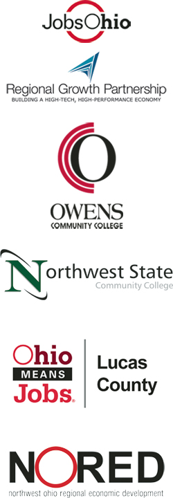 Provided by: JobsOhio / Regional Growth Partnership; Owens Community College; Northwest State Community College; Ohio Means Jobs | Lucas County; NORED