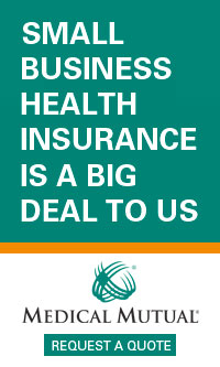 "AD: Medical Mutual: ""Small Business Health Insurance is a Big Deal to Us"""