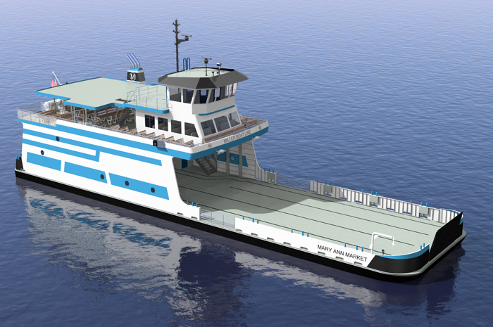 Miller Boat Line building new $7.5M ferry